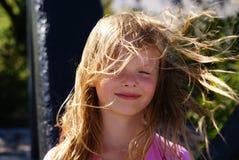 Όμορφο, ξανθό κορίτσι Στοκ Φωτογραφία
