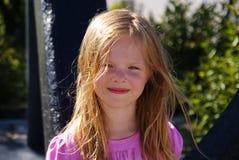 Όμορφο, ξανθό κορίτσι Στοκ Εικόνες