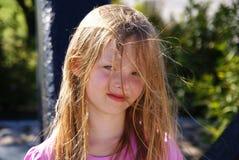 Όμορφο, ξανθό κορίτσι Στοκ εικόνες με δικαίωμα ελεύθερης χρήσης