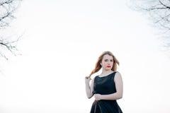 όμορφο ξανθό κορίτσι Στοκ Φωτογραφίες