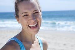 όμορφο ξανθό χαμόγελο κορ Στοκ φωτογραφία με δικαίωμα ελεύθερης χρήσης