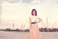 όμορφο ονειρεμένος κορίτ Στοκ εικόνες με δικαίωμα ελεύθερης χρήσης