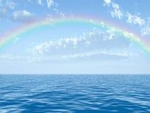 όμορφο ουράνιο τόξο ελεύθερη απεικόνιση δικαιώματος