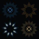 όμορφο λουλούδι σχεδίο Στοκ Φωτογραφίες