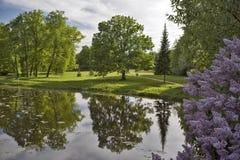 όμορφο πάρκο γωνιών Στοκ Εικόνες