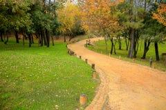 Όμορφο πάρκο πόλεων στην Πορτογαλία στοκ φωτογραφία με δικαίωμα ελεύθερης χρήσης