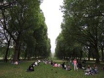 Όμορφο πάρκο στην πόλη του Λονδίνου στοκ εικόνες