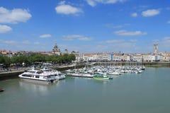 Όμορφο παλαιό λιμάνι του Λα Ροσέλ στη Γαλλία στοκ φωτογραφία