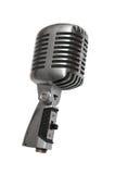 Όμορφο παλαιό μικρόφωνο στοκ εικόνες