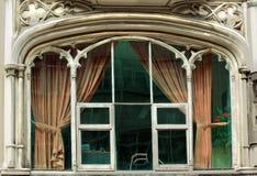 όμορφο παλαιό παράθυρο Στοκ εικόνες με δικαίωμα ελεύθερης χρήσης