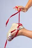 όμορφο παπούτσι Στοκ Εικόνες