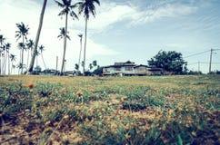 Όμορφο παραδοσιακό χωριό τοπίου που βρίσκεται σε Terengganu, Μαλαισία Στοκ εικόνα με δικαίωμα ελεύθερης χρήσης