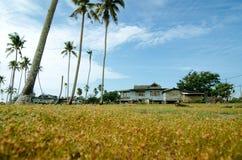 Όμορφο παραδοσιακό χωριό τοπίου που βρίσκεται σε Terengganu, Μαλαισία Στοκ φωτογραφίες με δικαίωμα ελεύθερης χρήσης
