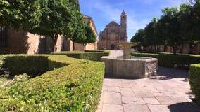Όμορφο παρεκκλησι του Ελ Σαλβαδόρ Ubeda, Ισπανία απόθεμα βίντεο