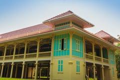 Όμορφο παλάτι αρχιτεκτονικής AF Mrigadayavan, προηγούμενος ένας βασιλικός Στοκ φωτογραφία με δικαίωμα ελεύθερης χρήσης