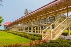Όμορφο παλάτι αρχιτεκτονικής AF Mrigadayavan, προηγούμενος ένας βασιλικός σχετικά με Στοκ φωτογραφία με δικαίωμα ελεύθερης χρήσης