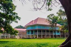 Όμορφο παλάτι αρχιτεκτονικής AF Mrigadayavan, προηγούμενος ένας βασιλικός σχετικά με Στοκ Εικόνες