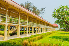 Όμορφο παλάτι αρχιτεκτονικής AF Mrigadayavan, προηγούμενος ένας βασιλικός σχετικά με Στοκ Εικόνα