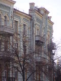 Όμορφο παλαιό κτήριο στο Κίεβο στοκ φωτογραφία