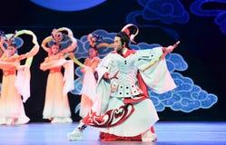 Όμορφο παλτό ατόμων ï ¼ šHou yi-Jiangxi OperaBlue Στοκ εικόνες με δικαίωμα ελεύθερης χρήσης