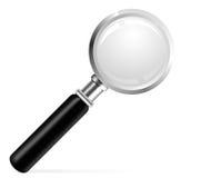 όμορφο πιό magnifier διάνυσμα απει&k Στοκ εικόνες με δικαίωμα ελεύθερης χρήσης