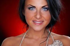 όμορφο πορτρέτου κοριτσ&iot Στοκ φωτογραφία με δικαίωμα ελεύθερης χρήσης
