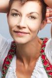 Όμορφο πορτρέτο γυναικών Στοκ φωτογραφία με δικαίωμα ελεύθερης χρήσης