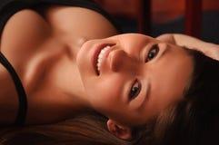 όμορφο πορτρέτο κοριτσιών & Στοκ εικόνα με δικαίωμα ελεύθερης χρήσης