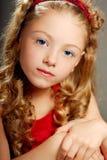όμορφο πορτρέτο κοριτσιών Στοκ Φωτογραφία