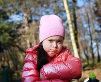 όμορφο πορτρέτο κοριτσιών Στοκ Εικόνα