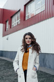 όμορφο πορτρέτο κοριτσιών & Στοκ Εικόνες