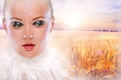 όμορφο πορτρέτο κοριτσιών Στοκ φωτογραφία με δικαίωμα ελεύθερης χρήσης