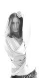 όμορφο πορτρέτο κοριτσιών Στοκ φωτογραφίες με δικαίωμα ελεύθερης χρήσης