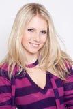 όμορφο πορτρέτο μόδας θρόμβ& Στοκ φωτογραφία με δικαίωμα ελεύθερης χρήσης