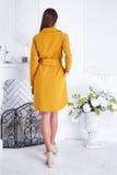 Όμορφο προκλητικό μοντέρνο μοντέρνο φόρεμα καταλόγων ιματισμού γυναικών Στοκ Φωτογραφίες