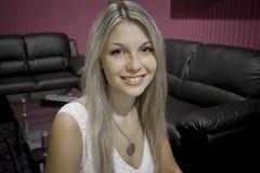 Όμορφο πρόσωπο κοριτσιών Στοκ εικόνες με δικαίωμα ελεύθερης χρήσης