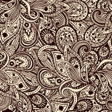 Όμορφο πρότυπο του Paisley Στοκ εικόνα με δικαίωμα ελεύθερης χρήσης