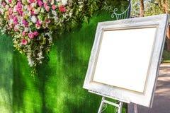Όμορφο πλαίσιο γαμήλιων εικόνων Στοκ φωτογραφίες με δικαίωμα ελεύθερης χρήσης