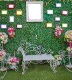 Όμορφο πλαίσιο γαμήλιων εικόνων Στοκ Εικόνα