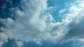 Όμορφο δραματικό cloudscape απόθεμα βίντεο