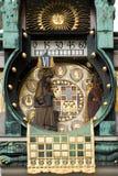 όμορφο ρολόι στοκ εικόνα