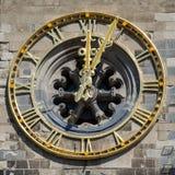 όμορφο ρολόι παλαιό Στοκ φωτογραφία με δικαίωμα ελεύθερης χρήσης