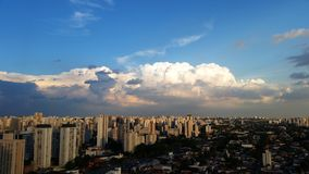 Όμορφο Σάο Πάολο Βραζιλία στοκ εικόνα με δικαίωμα ελεύθερης χρήσης