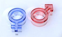 όμορφο σεξουαλικό σημάδ&iot Στοκ φωτογραφία με δικαίωμα ελεύθερης χρήσης