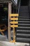 όμορφο σημάδι ξύλινο Στοκ Φωτογραφία