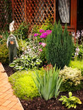 Όμορφο σπίτι κήπων Στοκ φωτογραφία με δικαίωμα ελεύθερης χρήσης