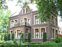 Όμορφο σπίτι στις Κάτω Χώρες στοκ φωτογραφίες