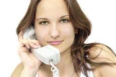 όμορφο στενό κορίτσι επάνω Στοκ φωτογραφίες με δικαίωμα ελεύθερης χρήσης