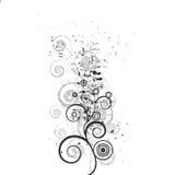 όμορφο στοιχείο σχεδίων flo Στοκ εικόνα με δικαίωμα ελεύθερης χρήσης