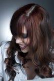 όμορφο στούντιο brunette Στοκ φωτογραφία με δικαίωμα ελεύθερης χρήσης